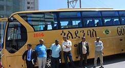الافتتاح الرسمي لحافلات جولدن دراجون في شقق ماريوت الفندقية أديس أبابا